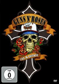Cover Guns N' Roses - Live In Chicago 1992 [DVD]